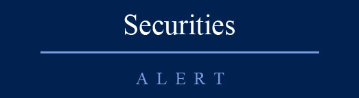 Securities Alert